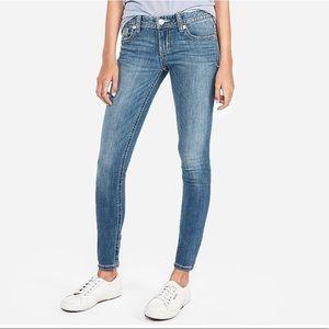 Low-rise Denim Legging
